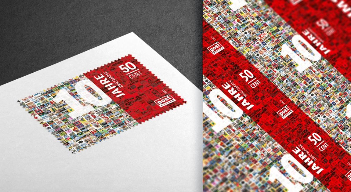 postmodern-briefmarken-philatelie-ersttagskarte-10jahre-veredlung-prägung-stanzung-grafikdesign-berlin